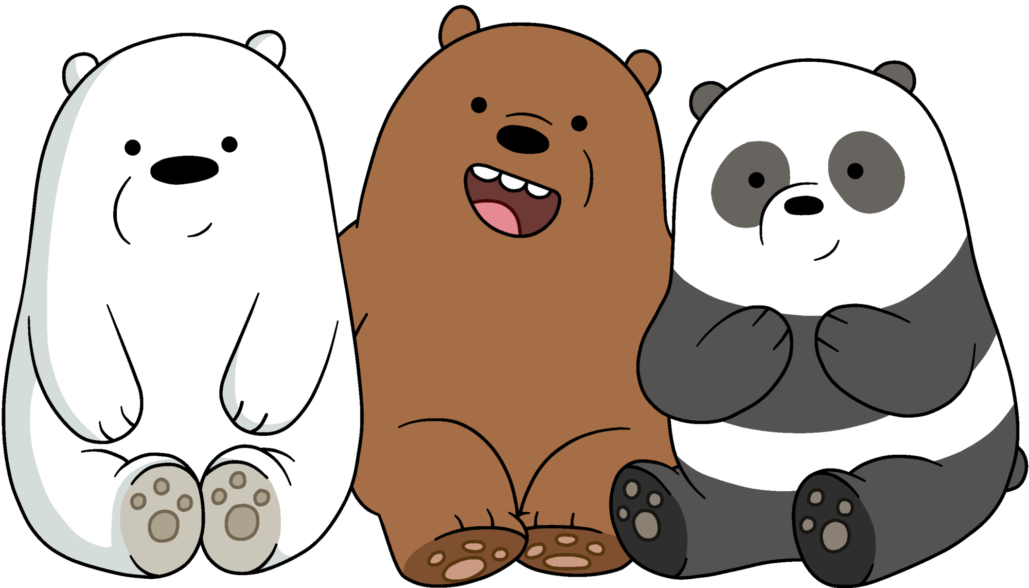 Video we bare bears. Panda stickers ute wallpapers