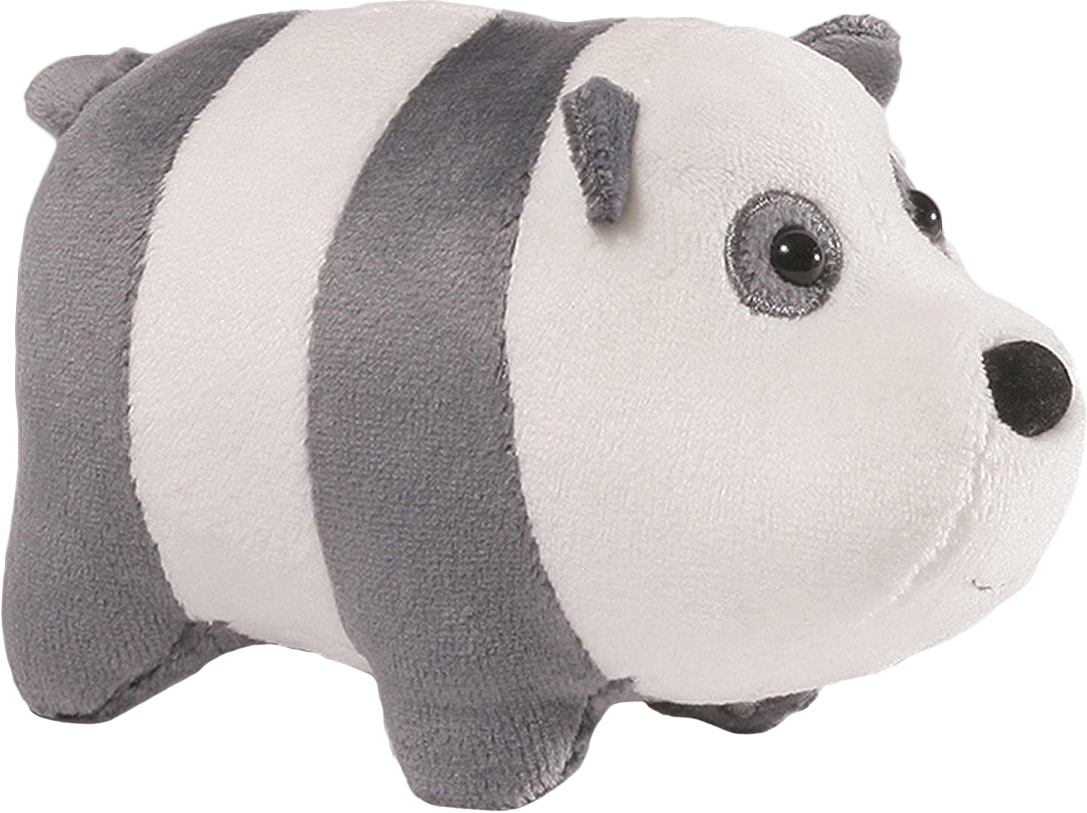 We bare bears panda png. Stackable plush by gund