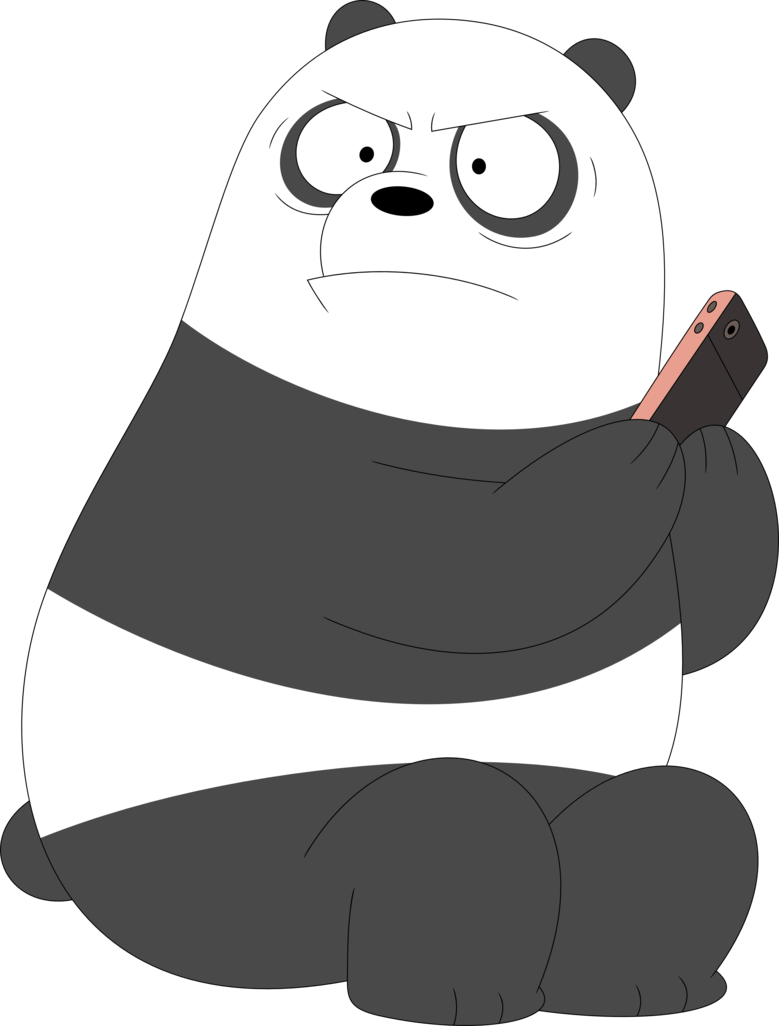 We bare bears panda png. When you ask if
