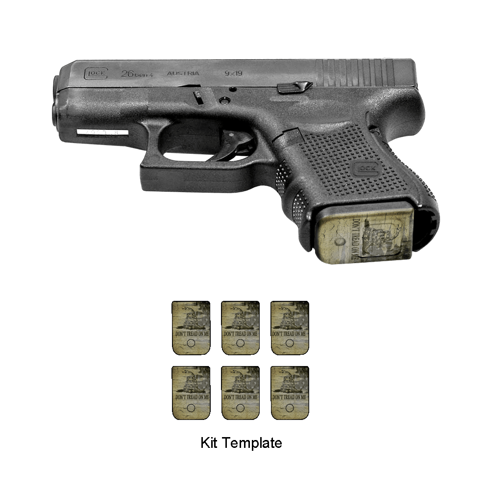 Weapon clip bb gun magazine. Customize and identify your