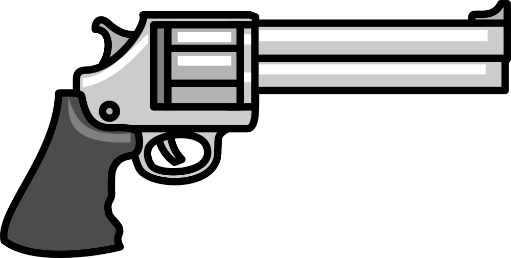 Weapon clip. Onlinelabels art gun
