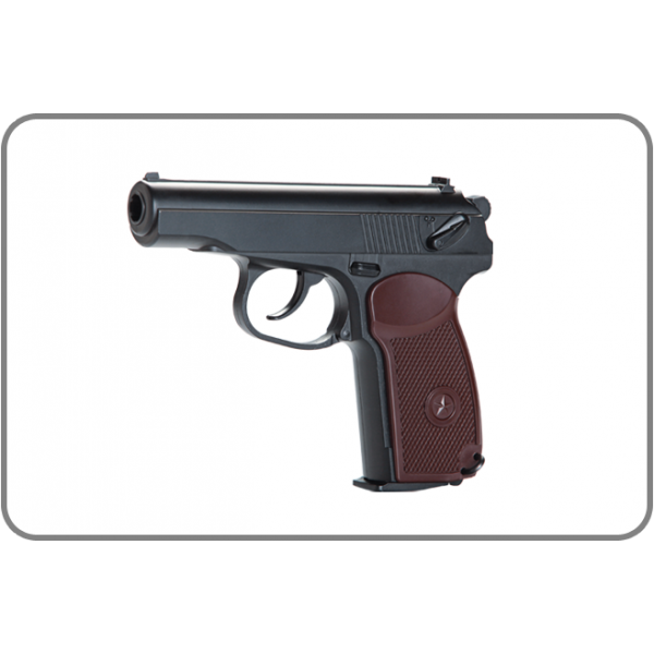 Kwc makarov pm styled. Weapon clip bb gun magazine vector freeuse library