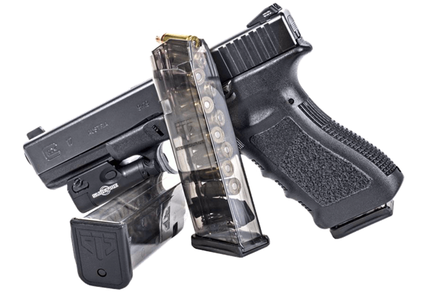 Weapon clip glock 17. Ets mm limited round