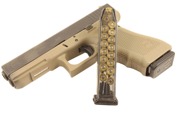 Weapon clip glock 17. Mm magazine ets wicked
