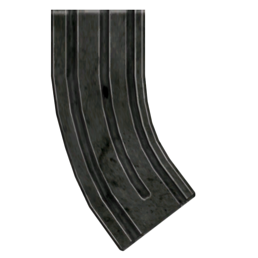 Weapon clip magazine. Assault carbine extended magazines