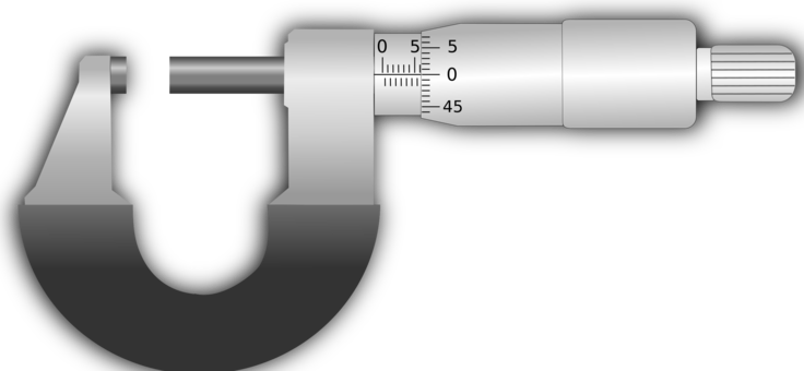 Weapon clip scale. Computer icons vernier calipers