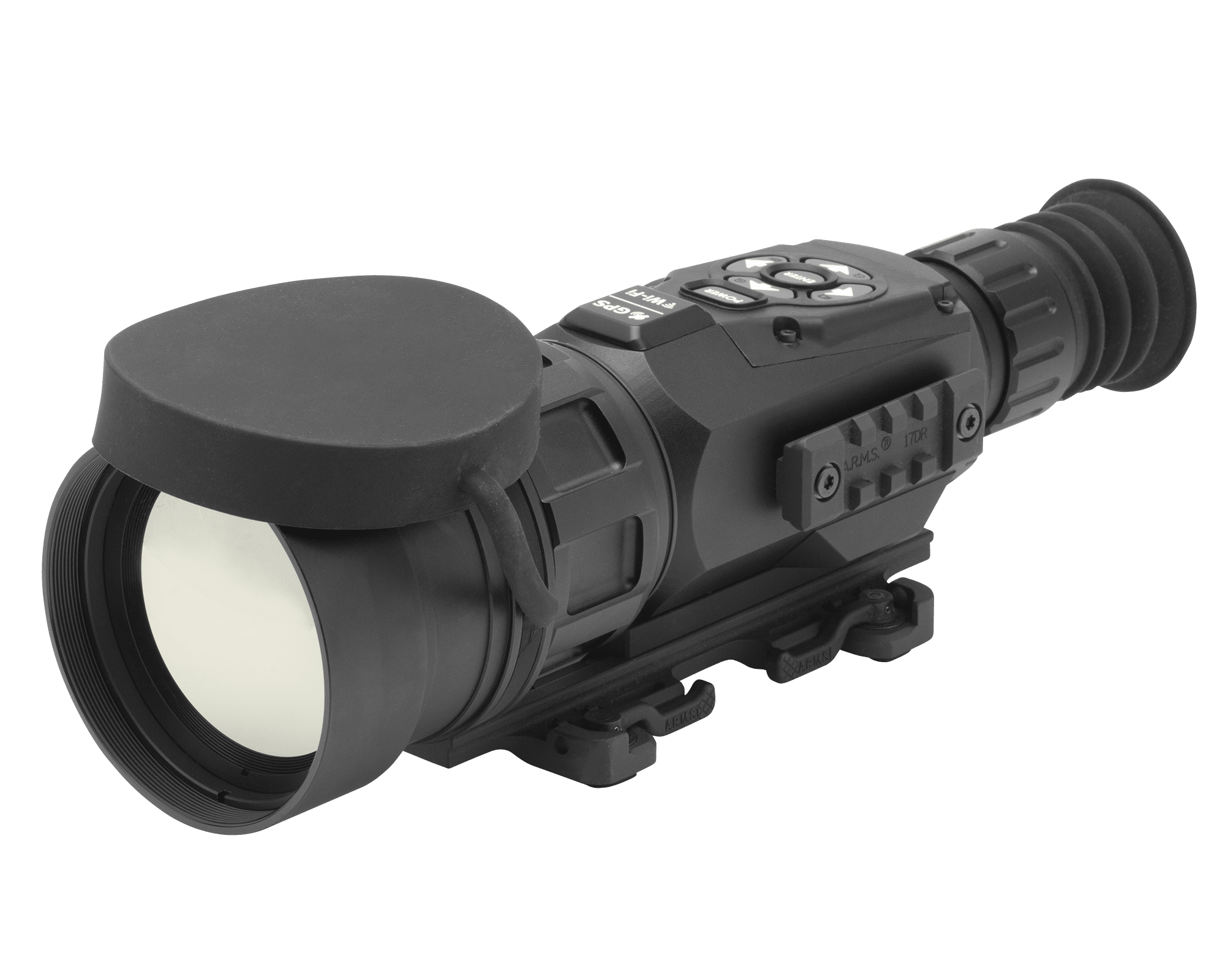 Weapon clip thermal rifle scope. Atn thor hd x