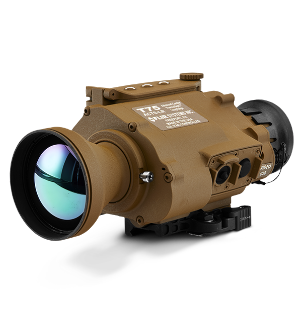 Weapon clip thermal rifle scope. Thermosight t advanced on