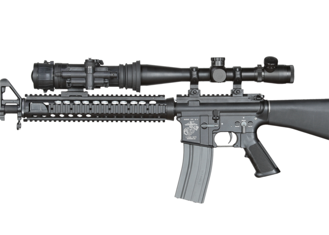 Weapon clip thermal rifle scope. Armasight best night vision