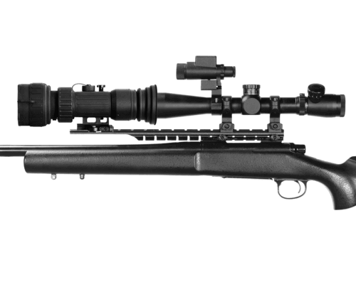 Weapon clip thermal rifle scope. Atn ps day night