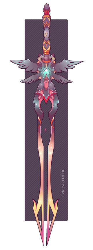 Weapon drawing angel. Adopt pending by epic