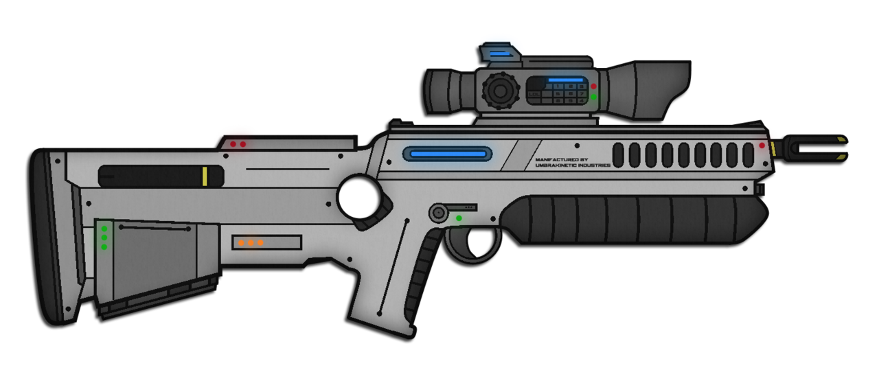 Weapon drawing assault rifle. Ui by skorpion on