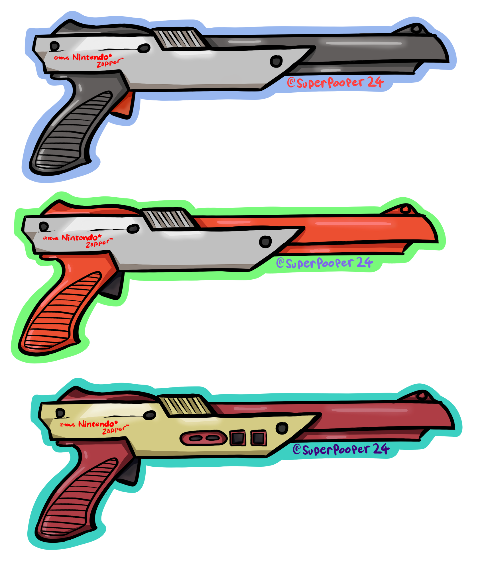 Weapon drawing bunch. Supernova on twitter ive