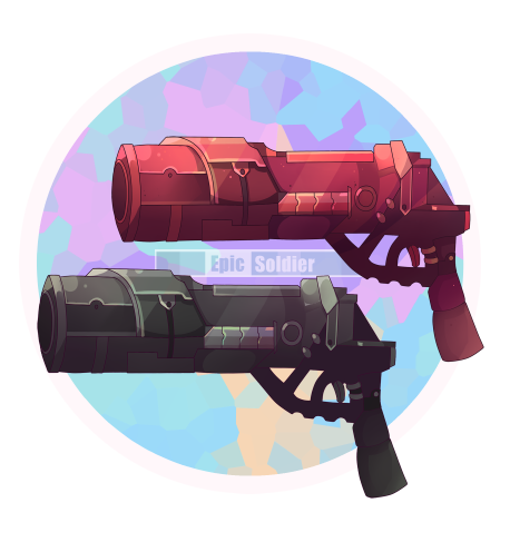 Weapon drawing bunch. Commission by epic soldier