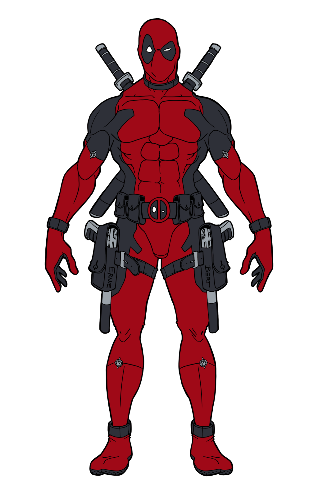 Weapon drawing deadpool. Pin by comix costumer