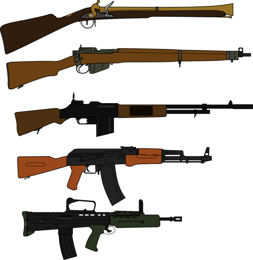 Weapon drawing historical. Weapons throughout history by