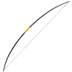 Weapon drawing medieval. Traditional bows longbows fantasy