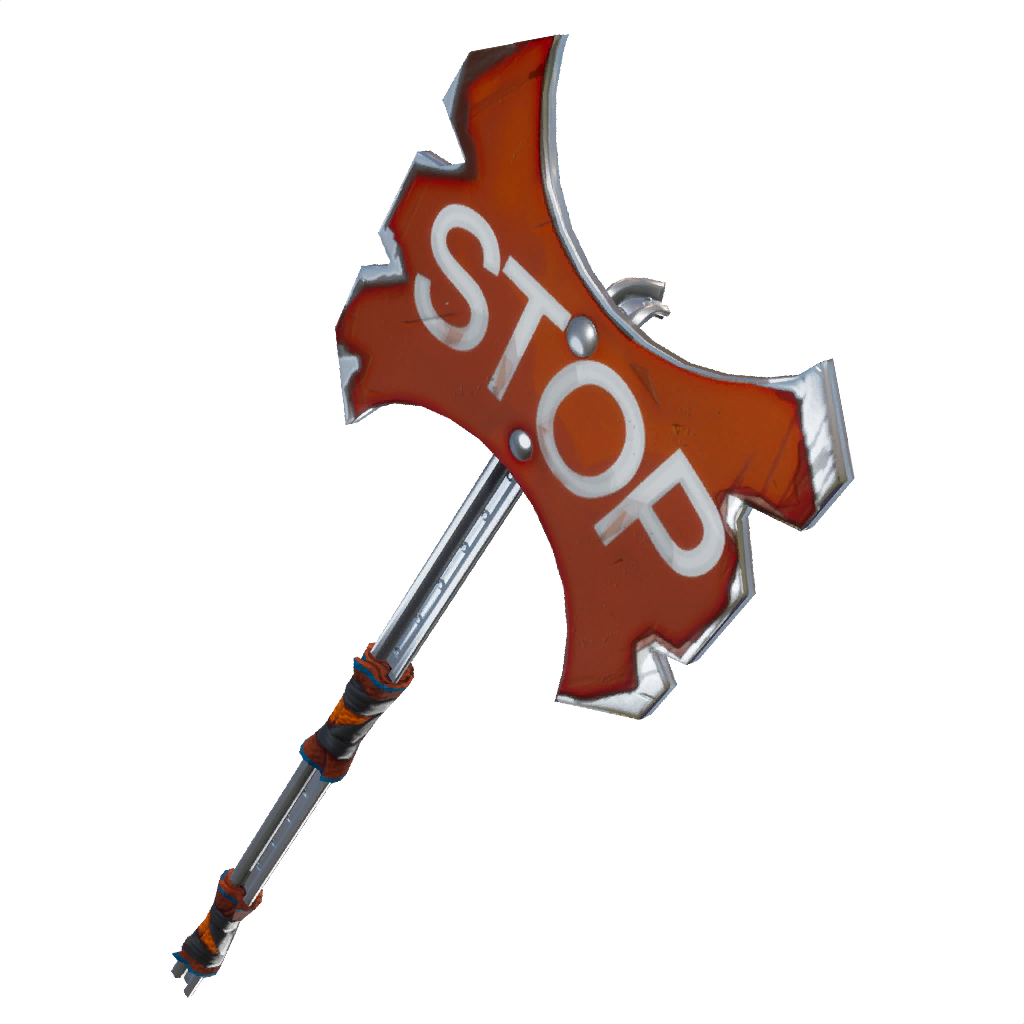 Weapon drawing pickaxe. Upcoming cosmetics found in
