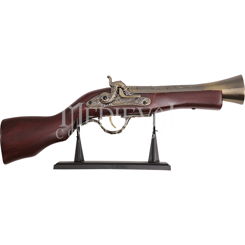 Weapon drawing steampunk. Blunderbuss np wg a