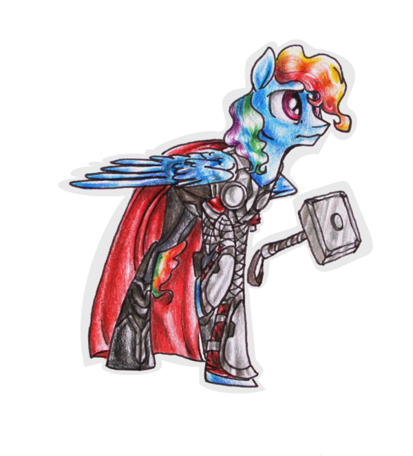 Weapon drawing thor. Avengers of equestria by