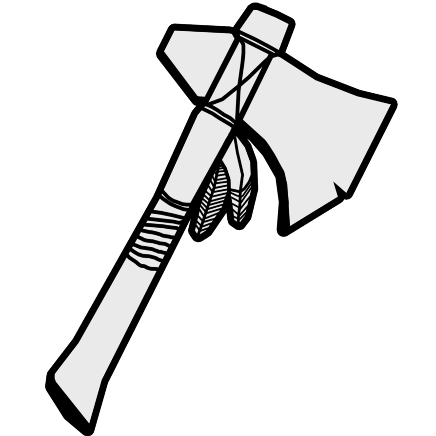 Weapon drawing tomahawk. By yhdf on deviantart