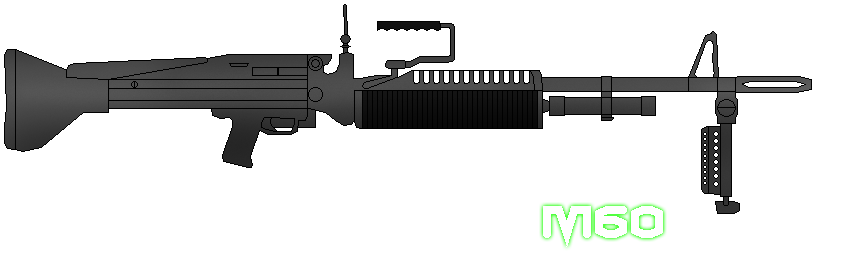 Weapon drawing tommy gun. M by sudro on