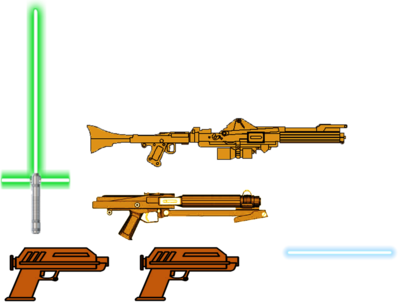 Weapon drawing weaponry. My star wars weapons