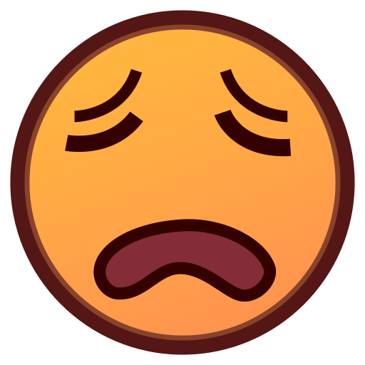 Weary emoji png. Face for facebook email