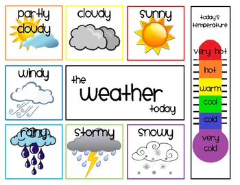 Weather clipart kindergarten. Daily chart by shae