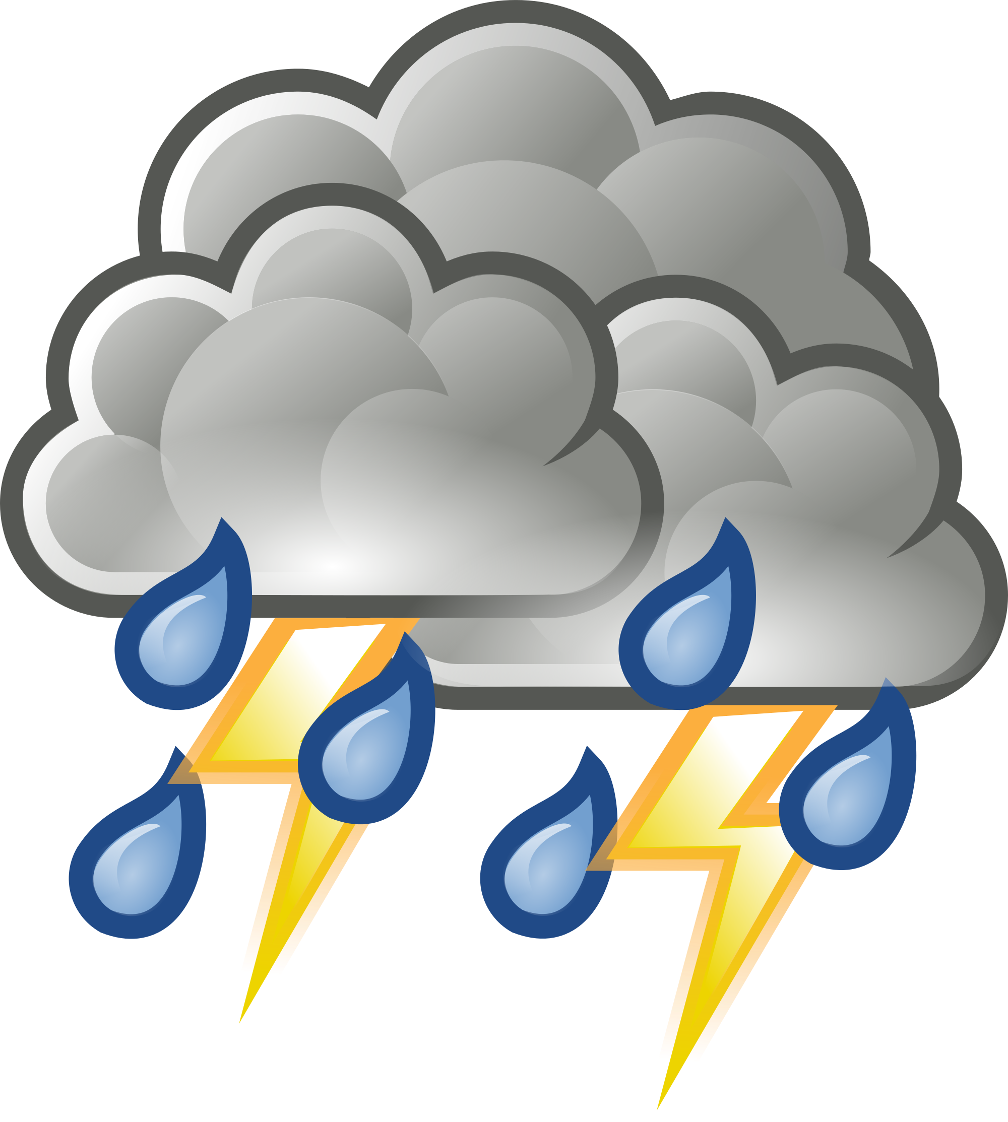Weather clipart severe weather. Forecast cancels somerville street