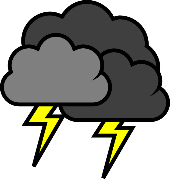 Stormy . Thunderstorm clipart graphic freeuse download