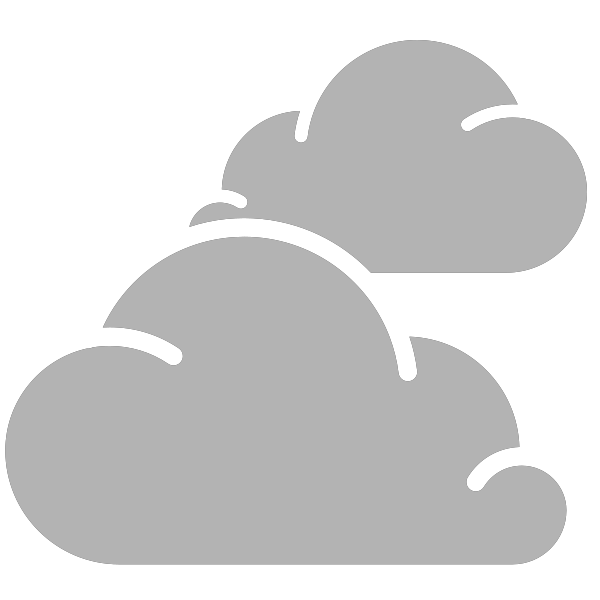 Weather vector. Simple icons cloudy svg
