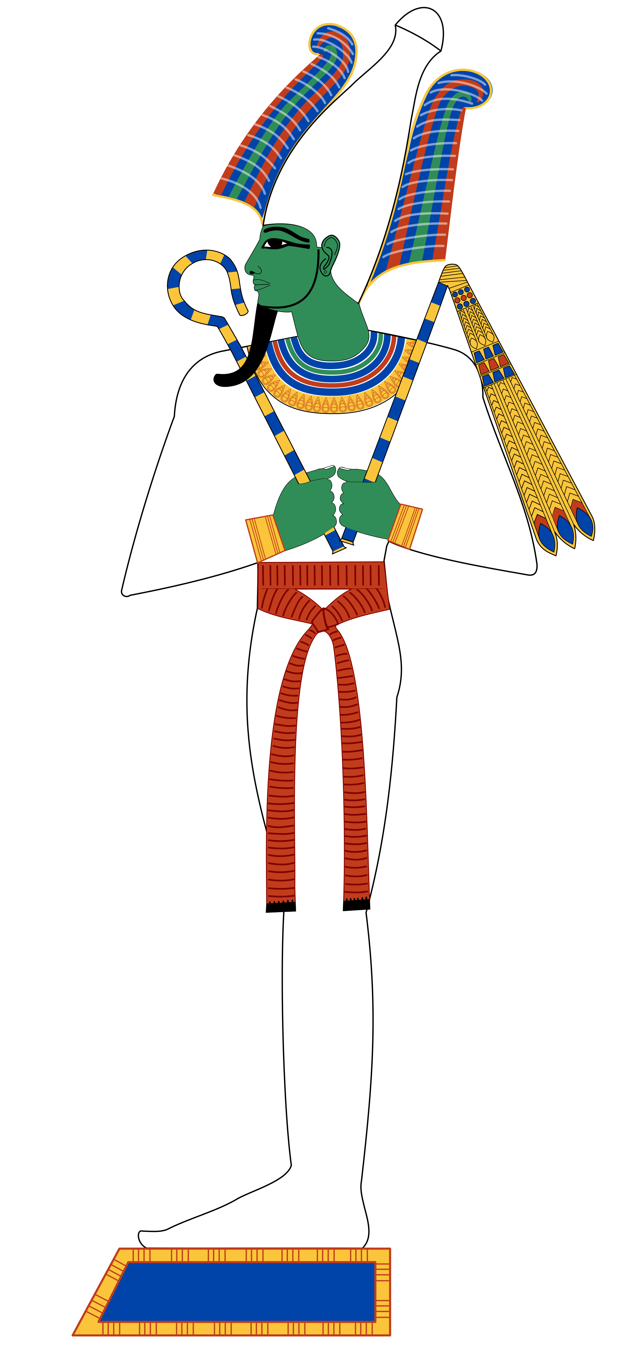 Top most famous ancient. Isis drawing egyptian art clipart
