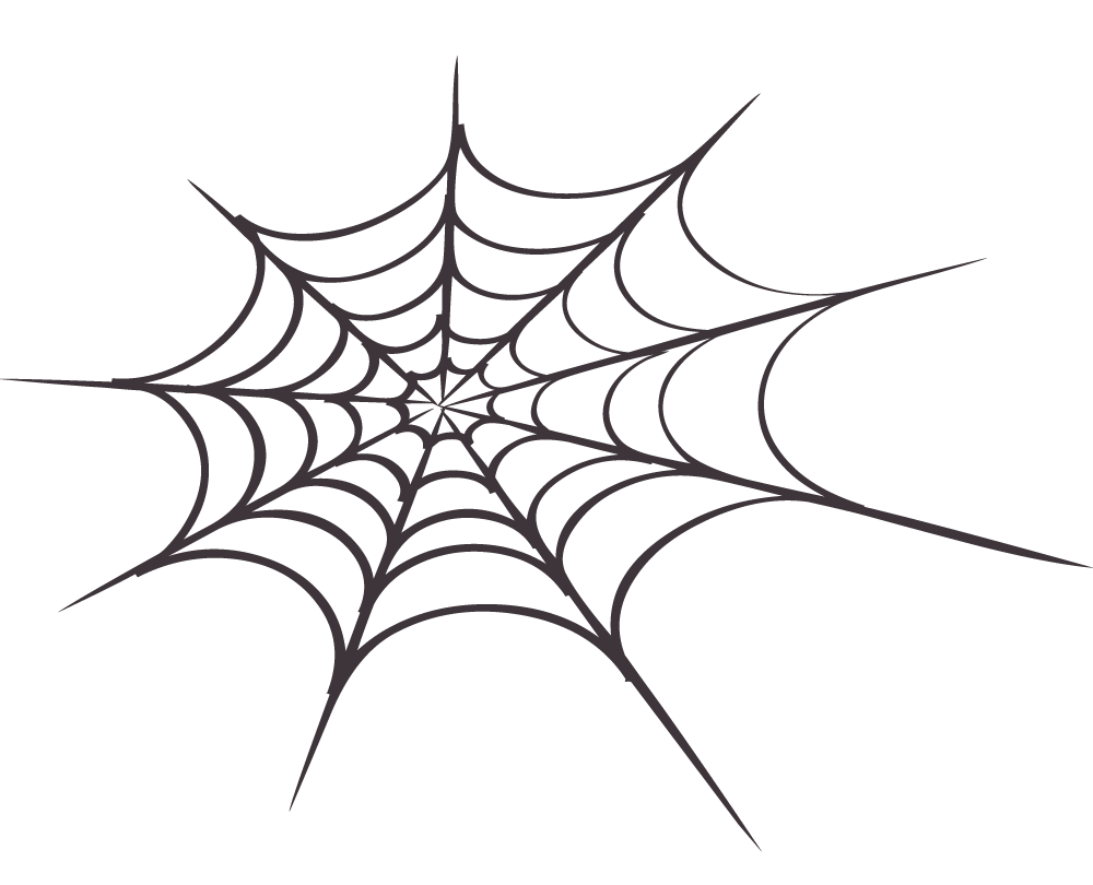 Drawing web face paint spider. Clipart clipartix