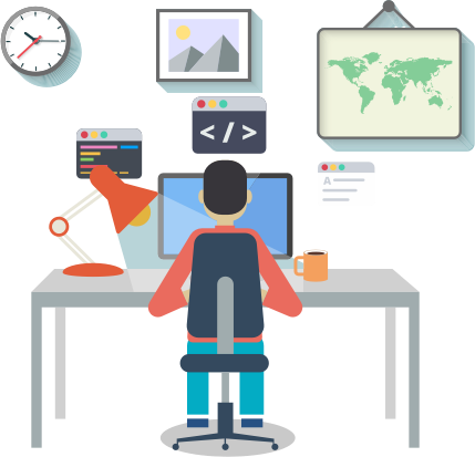 Web developer png. Logicspice is the leading