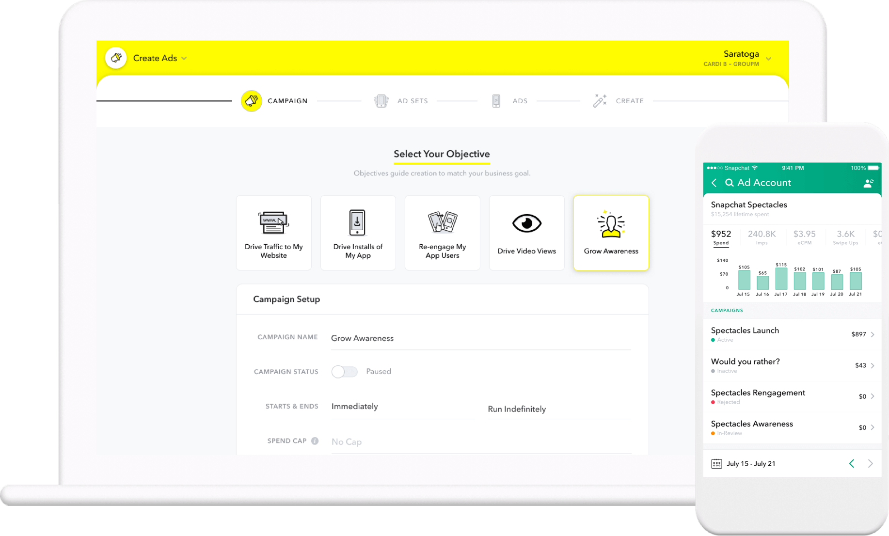 Web optimized transparent png for snapchat. Snap ads manager ad