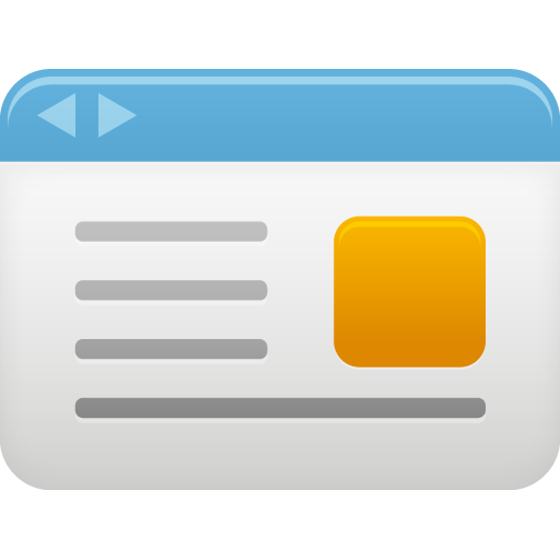 Web page icon png. Webpage pretty office iconset