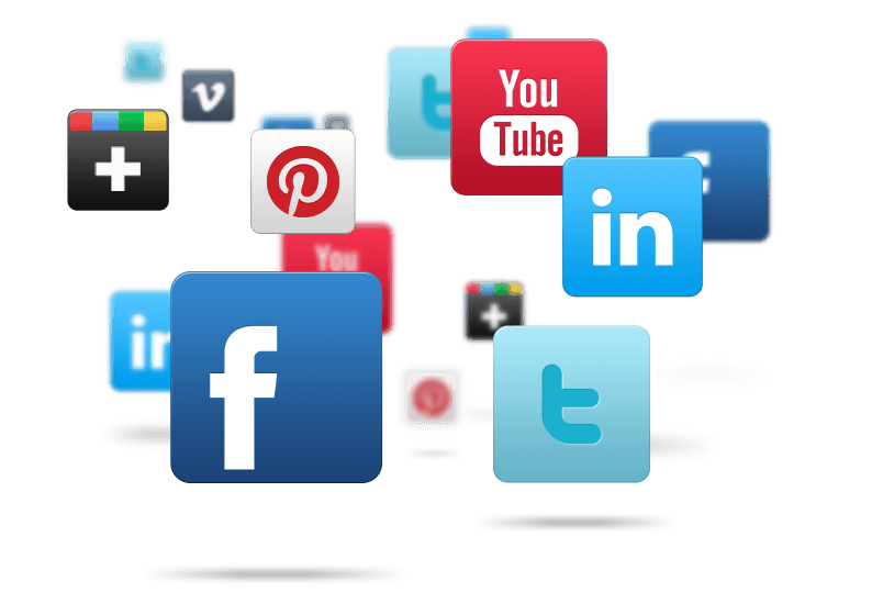 Web social icons png. My favourite media thing