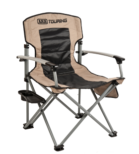 Webbing clip chair. Arb touring camping with