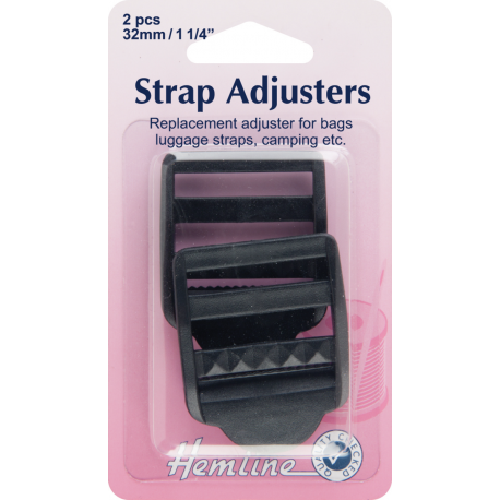 Webbing clip delrin. Hemline mm adjustable strap