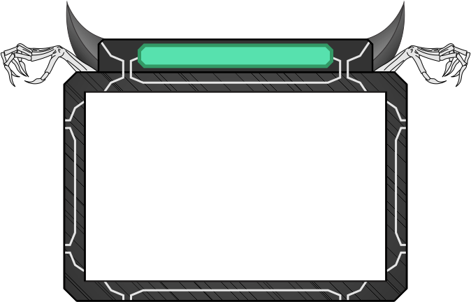 Webcam border overlay png