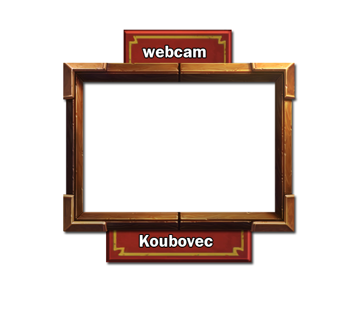 Webcam border for twitch overlay by pibor on DeviantArt