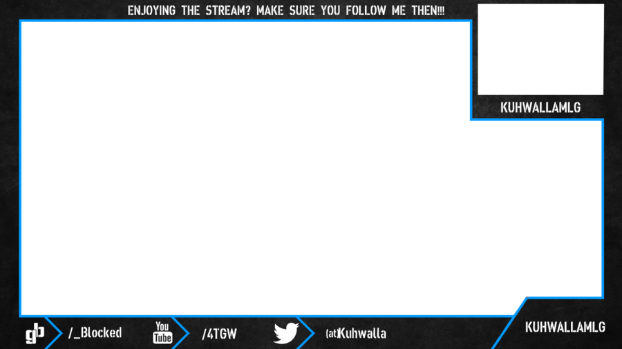 Webcam Overlay Twitch