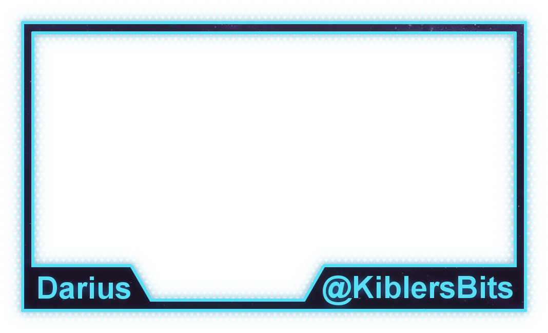Webcam borders png. Twitch cam border by
