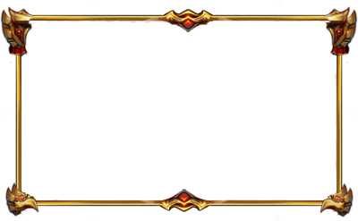 Webcam borders png. Free gold facecam border