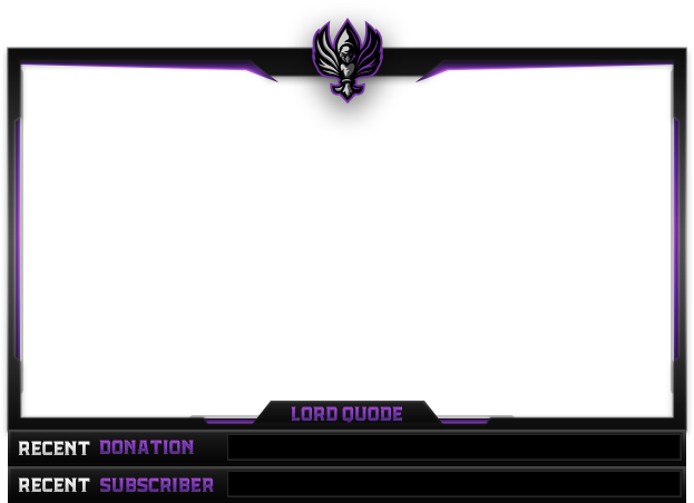 Webcam overlay png. Visuals by impulse on