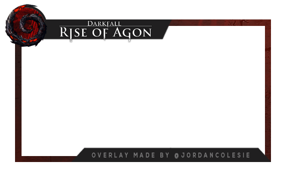 Webcam overlay png. Complete free use darkfall