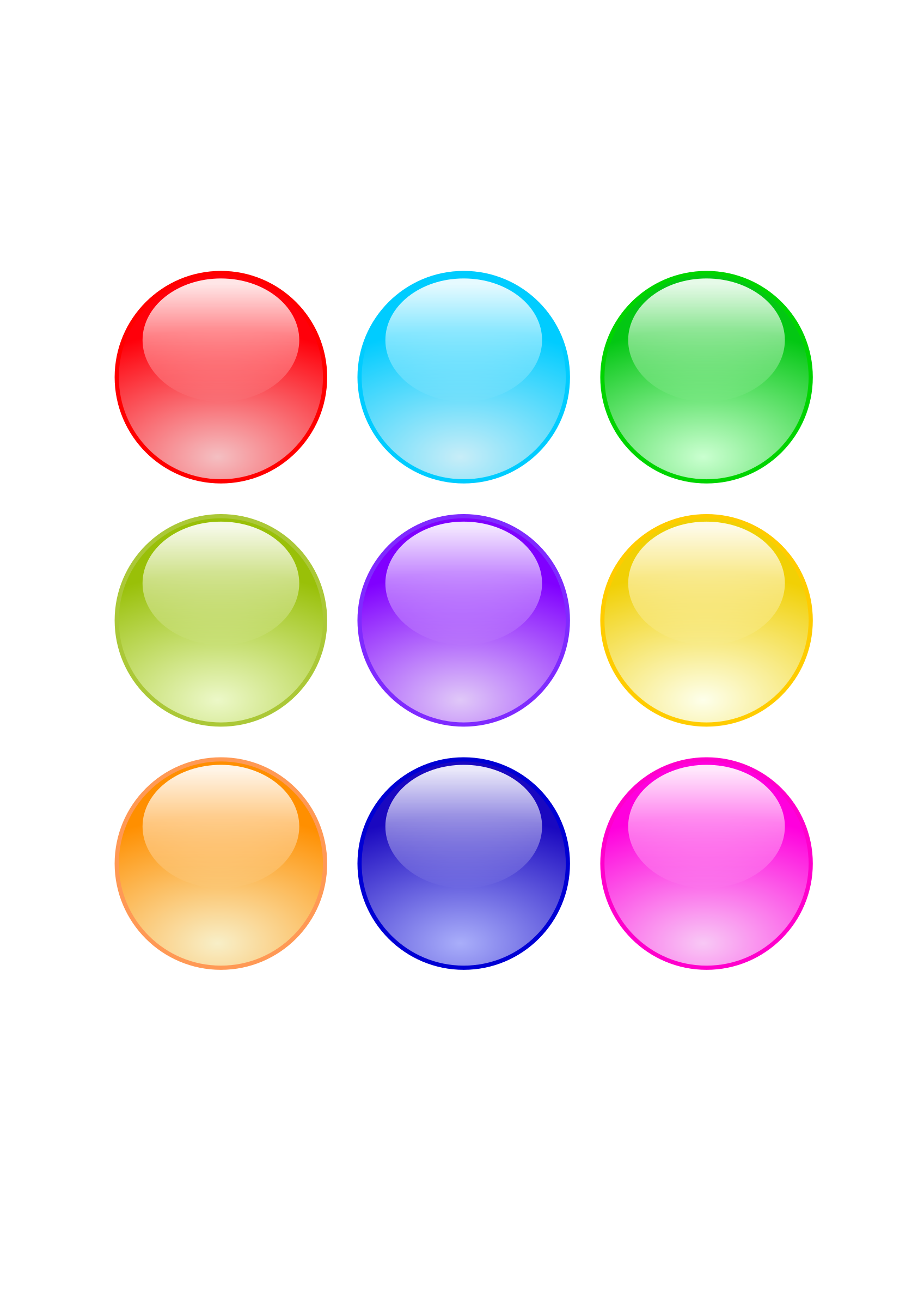 Website buttons png cricle. Glossy circle icons free