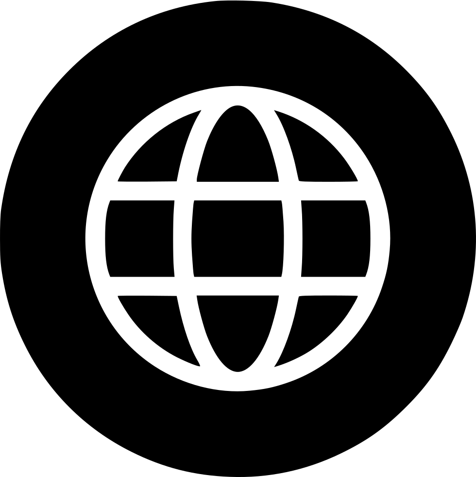 Earth World Wide Web Circle Connect Round Svg Png Icon Free Download