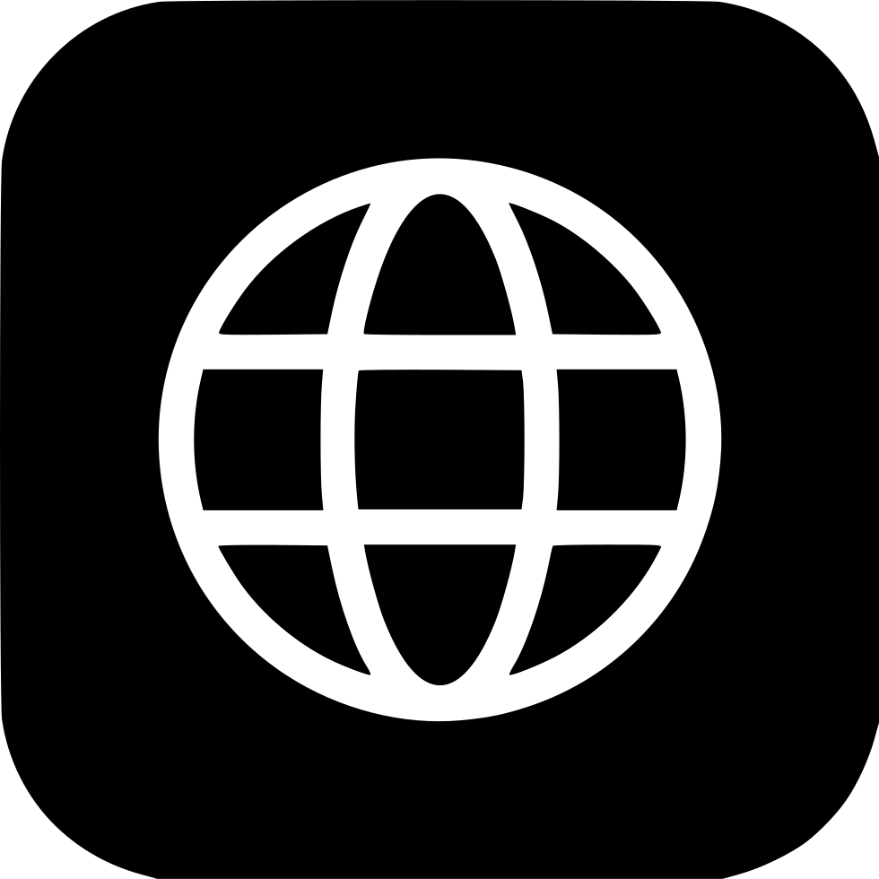 Web png icon. Earth world wide circle